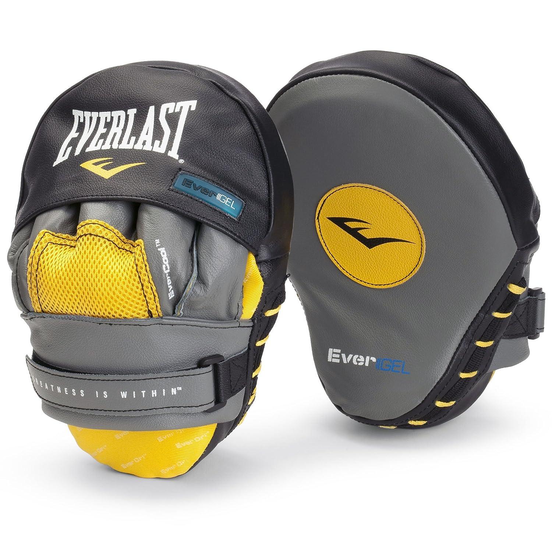 Everlast Evergel Mantis Hook - Almohadillas de golpeo para deportes de combate y contacto, color gris 4416GL