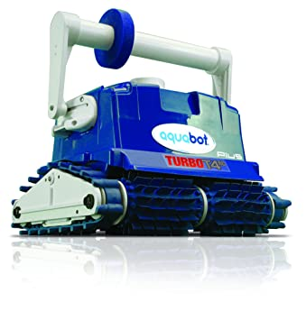 2017 Aquabot Turbo t4-rc Plus w/Grillete Y RC Robot limpiador de piscina: Amazon.es: Jardín