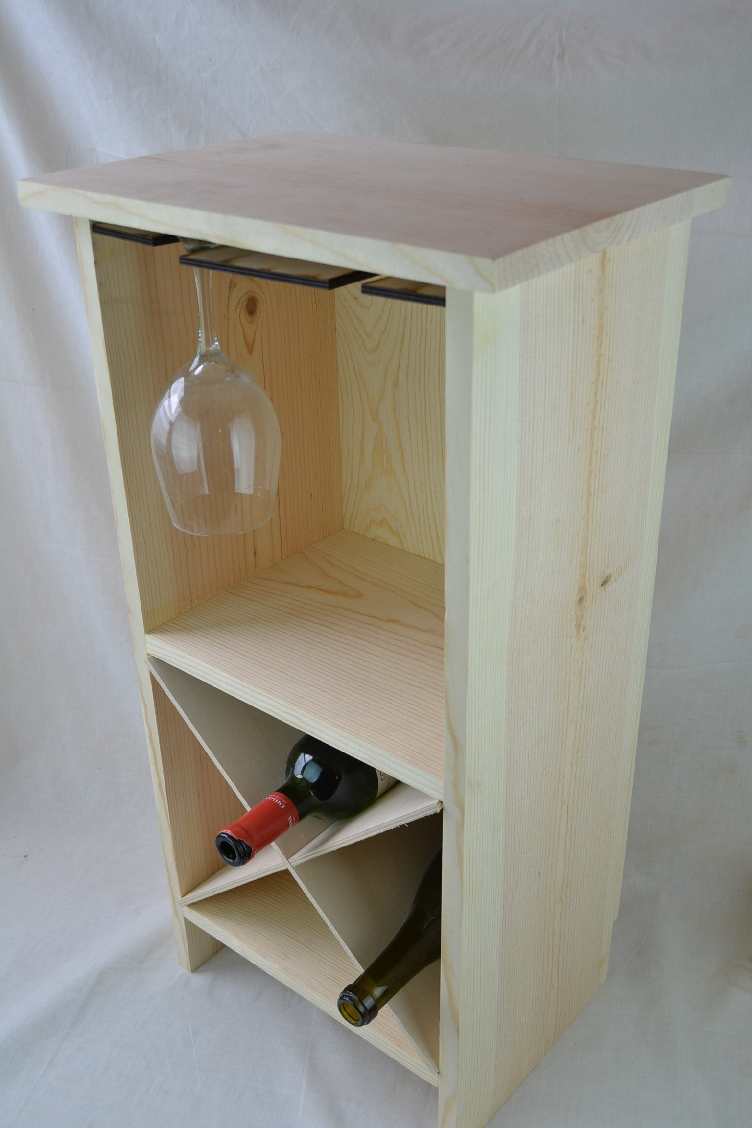 End table Wine Rack