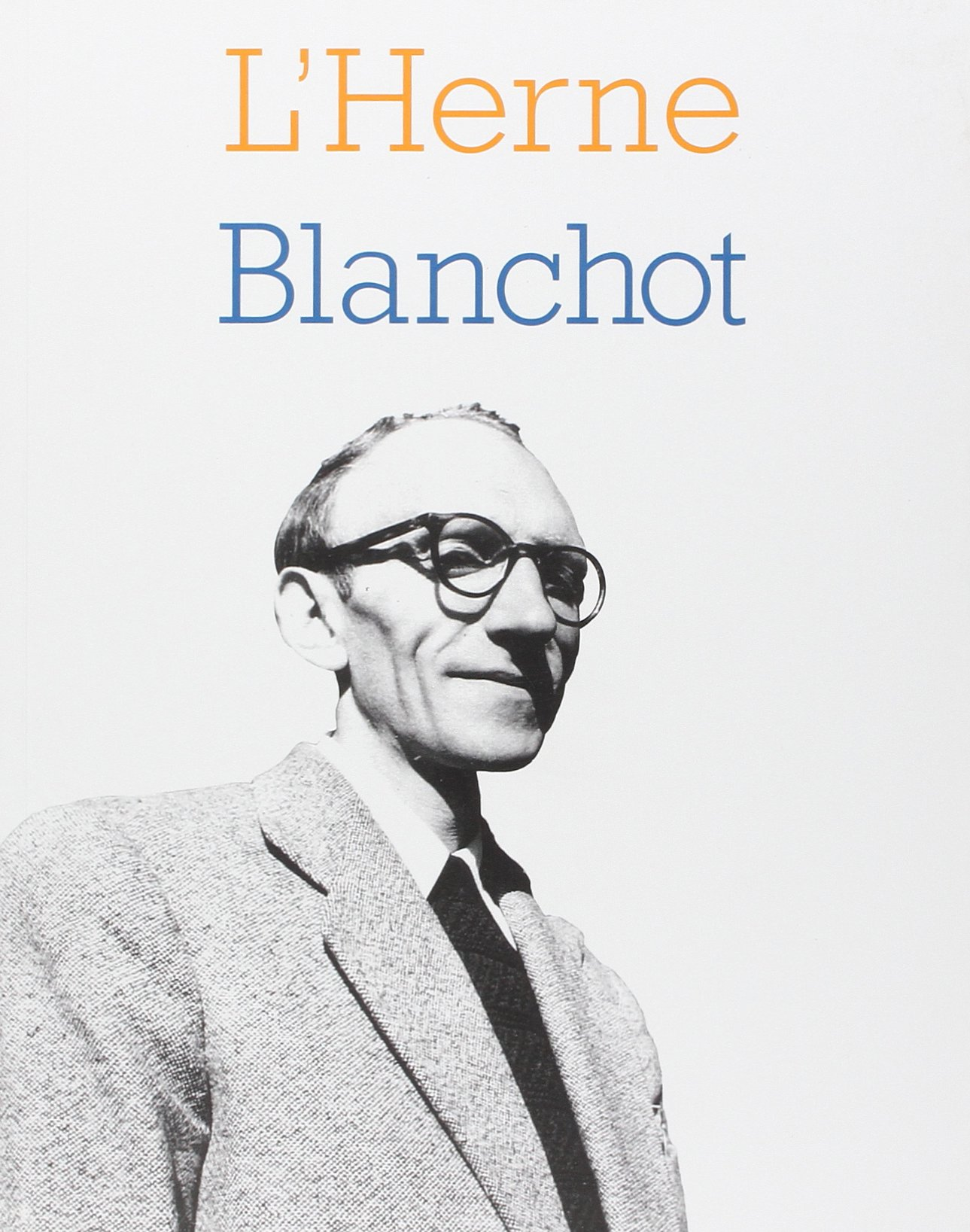 Maurice Blanchot, Cahier de L'Herne