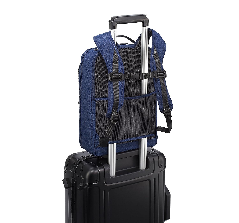 One Size Black Zero Halliburton Lightweight Business-Small Backpack