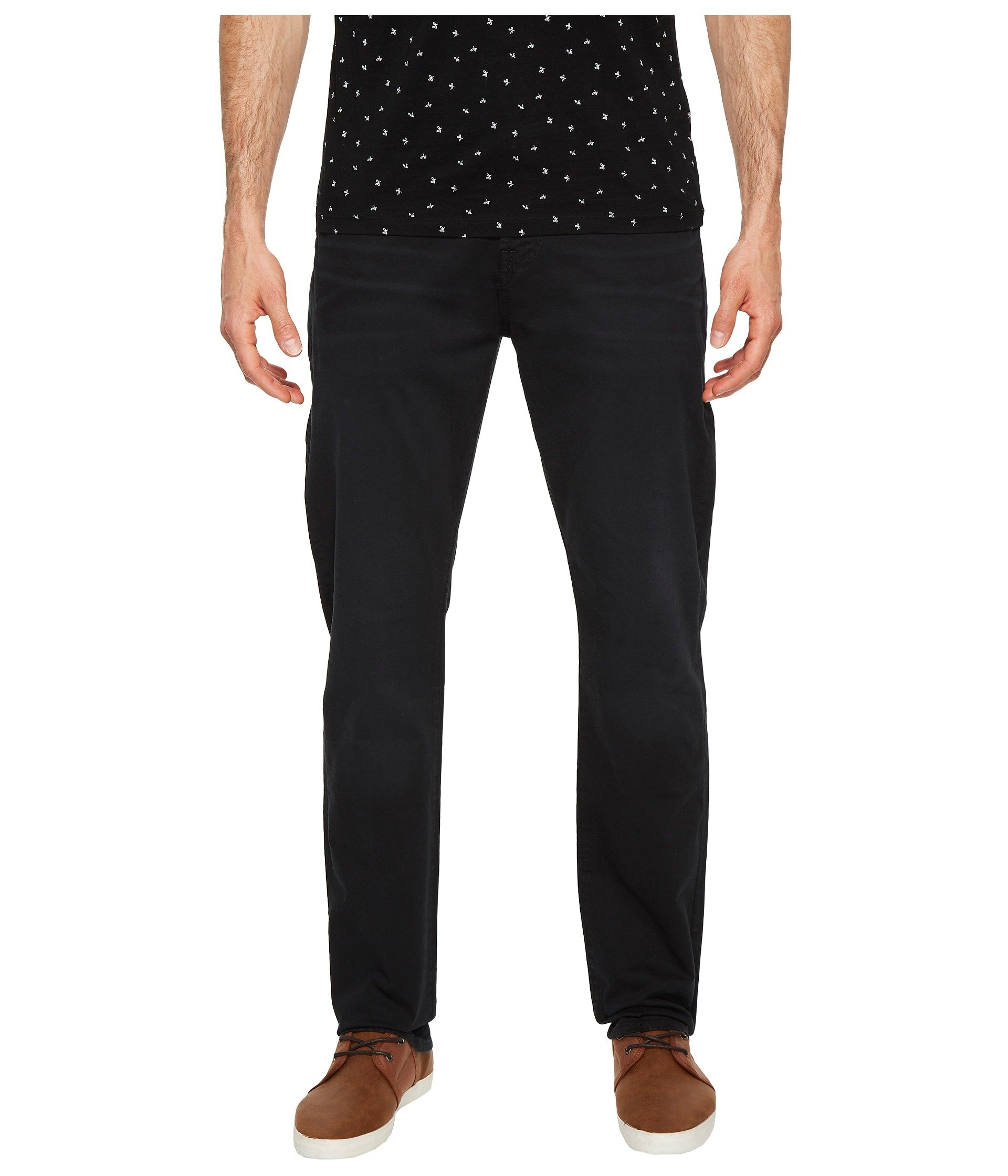 7 For All Mankind Men's The Straight Leg Chino With Clean Back Pocket, Deep Sea, 38