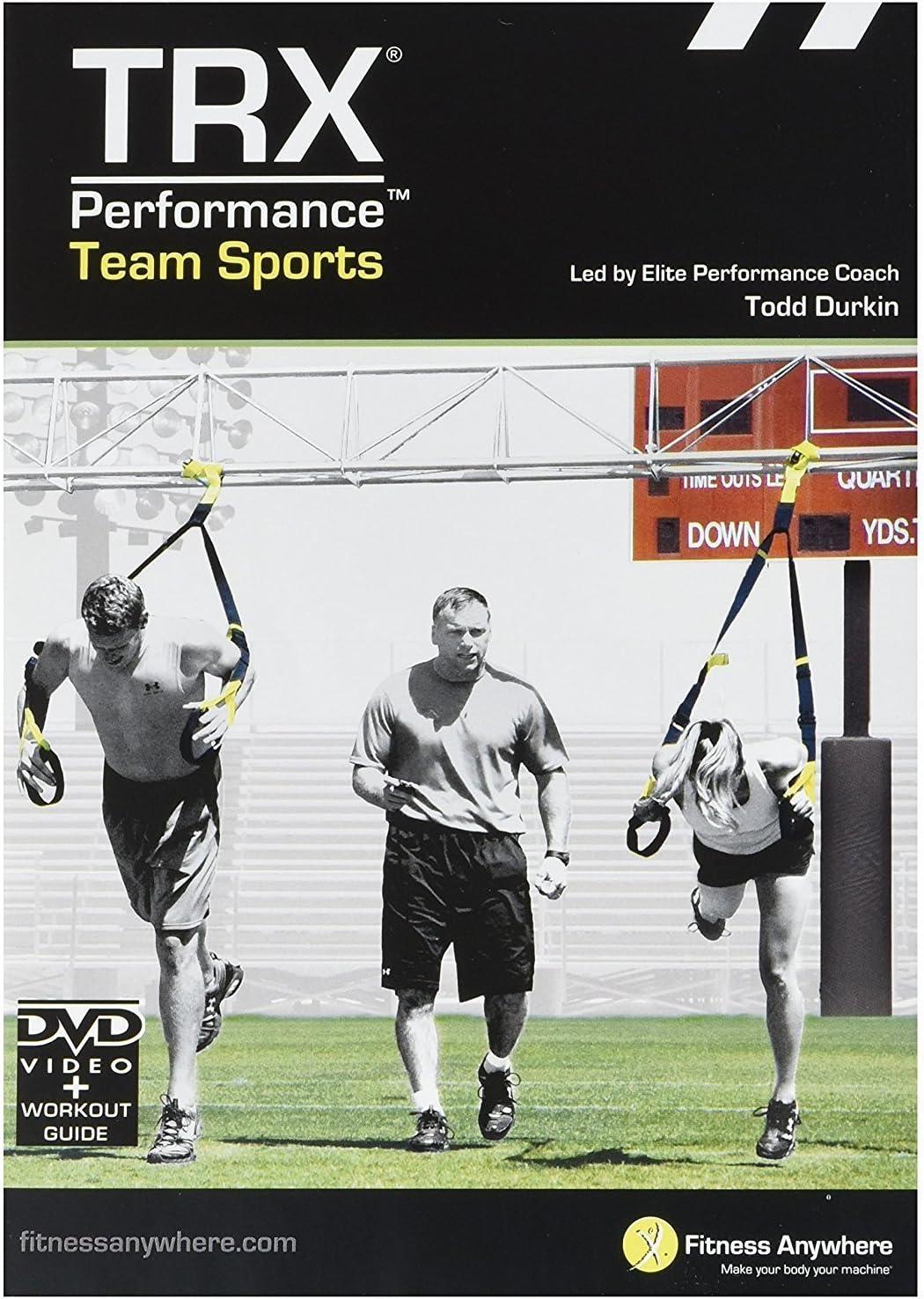 TRX 8363 - Rendimiento Deportes de equipo, vídeo de entrenamiento de la fuerza y acondicionamiento para equipos deportivos