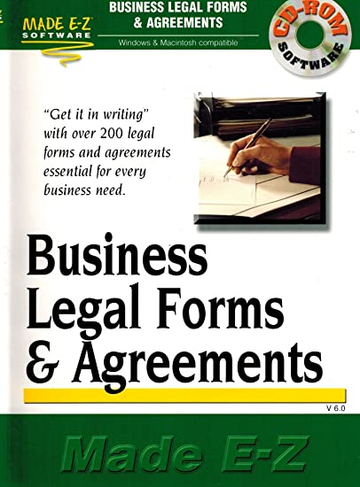 Amazoncom Business And Legal Forms Agreements Made Ez Made EZ - Ez legal forms