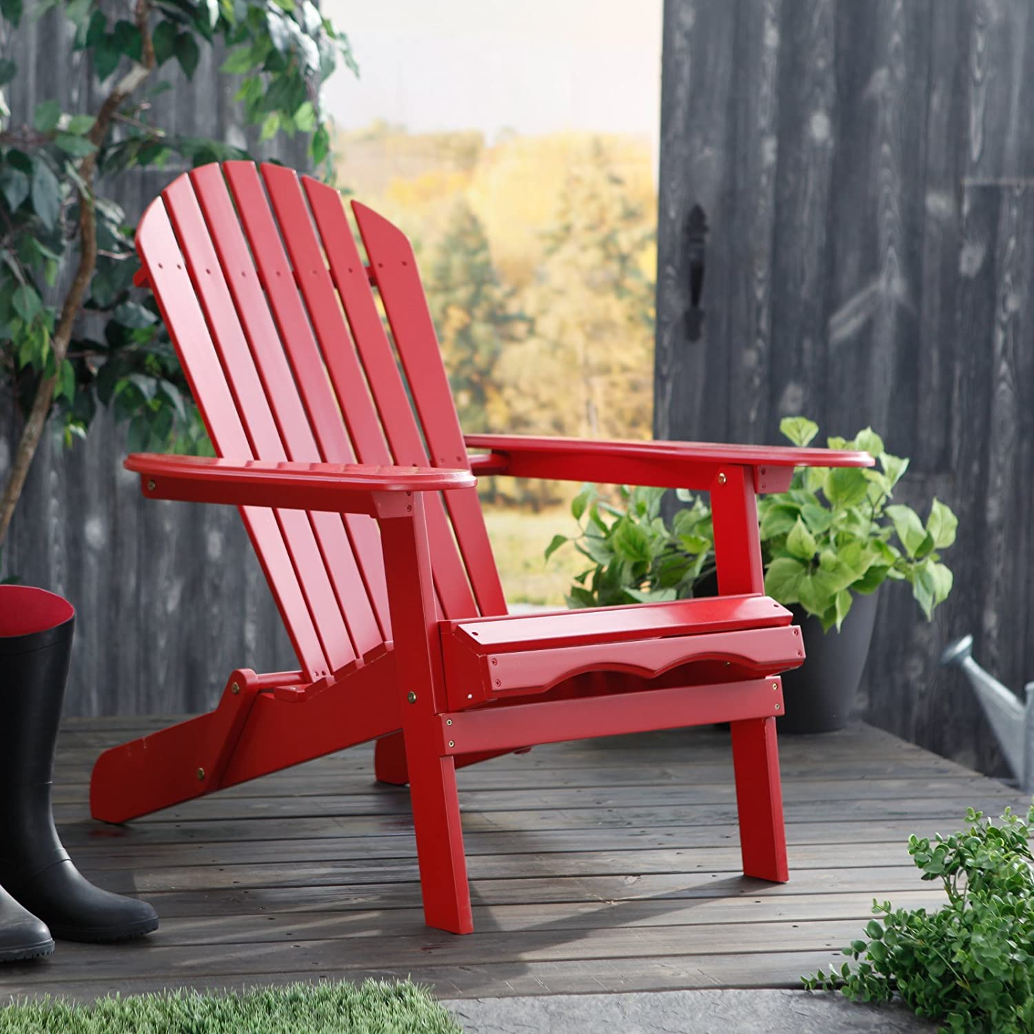 Amazon Cape Cod Foldable Adirondack Chair Folding