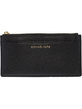 77c65a8d40db Amazon.com: MICHAEL Michael Kors Women's Jet Set Card Holder, Black, One  Size …: Michael Kors: Clothing