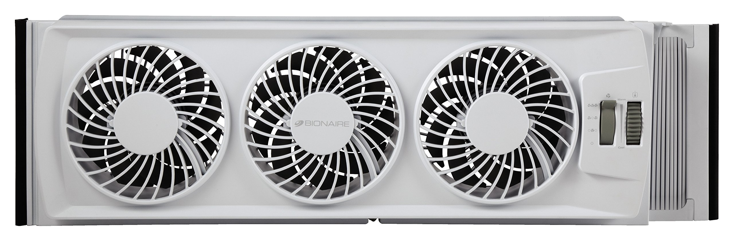 Bionaire BWF0502M-WM Thin Window Fan, White by Bionaire