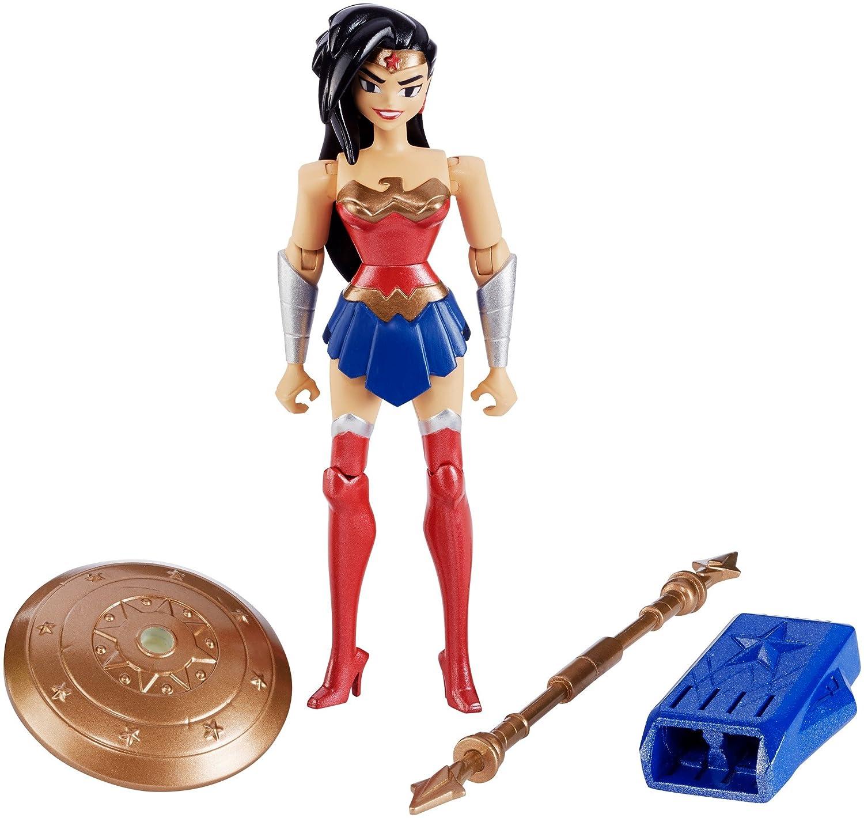 DC Justice League Action Wonder Woman Figure 4.5 4.5 Mattel FGP24