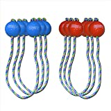 GoSports Ladder Toss Bolo Replacement Set with Real Golf Balls (6-Pack)