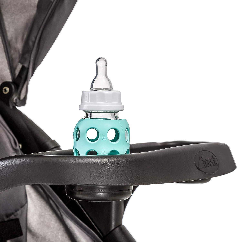 Hauck Shopper Neo II con botellero de 0 meses a 25 kg Silla de paseo con respaldo reclinable negro azul plegado f/ácil y compacto ligera plegable con una mano