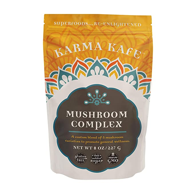 Karma Kafe, Superfood Boosts, Mushroom Complex: Amazon.com: Grocery & Gourmet Food