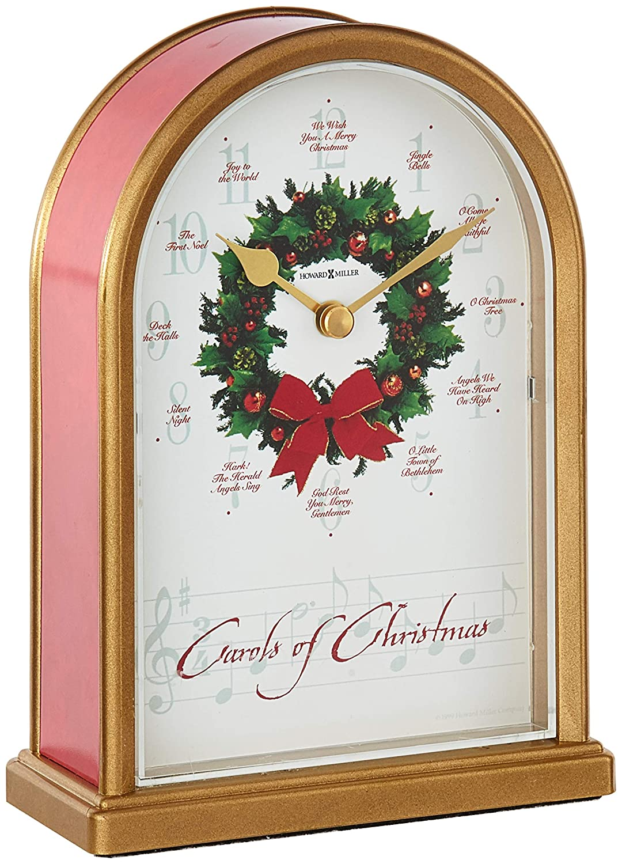 Amazon.com: Howard Miller 645-424 Carols of Christmas II Table Clock ...