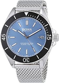 442af7c2145 Hugo BOSS Unisex-Adult Analogue Classic Quartz Connected Wrist Watch with  Stainless Steel…