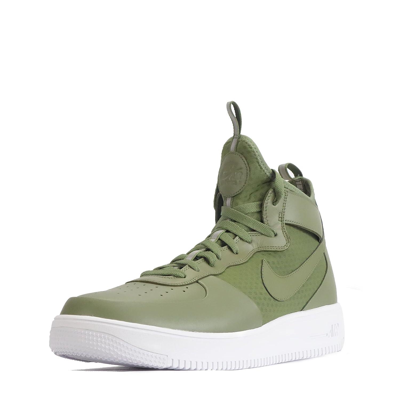 Nike Air Force 1 UltraForce Mid Herren Schuhe Palm GrünWeiß
