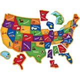 Learning Resources Magnetic U.S. Map Puzzle, 44 Pieces