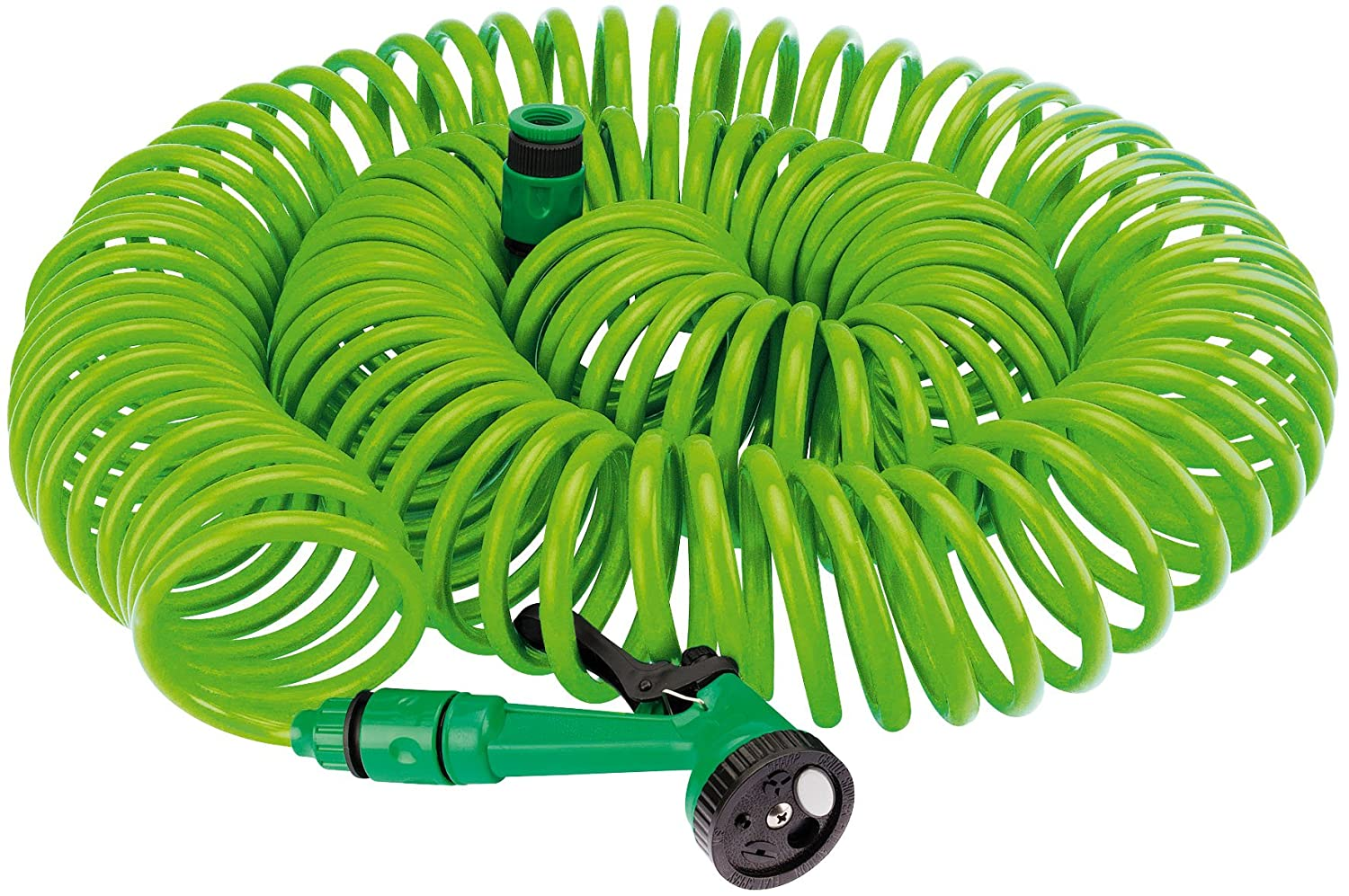 Draper 83984 10 m Recoil Hose with Spray Gun and Tap Connector DRA83984
