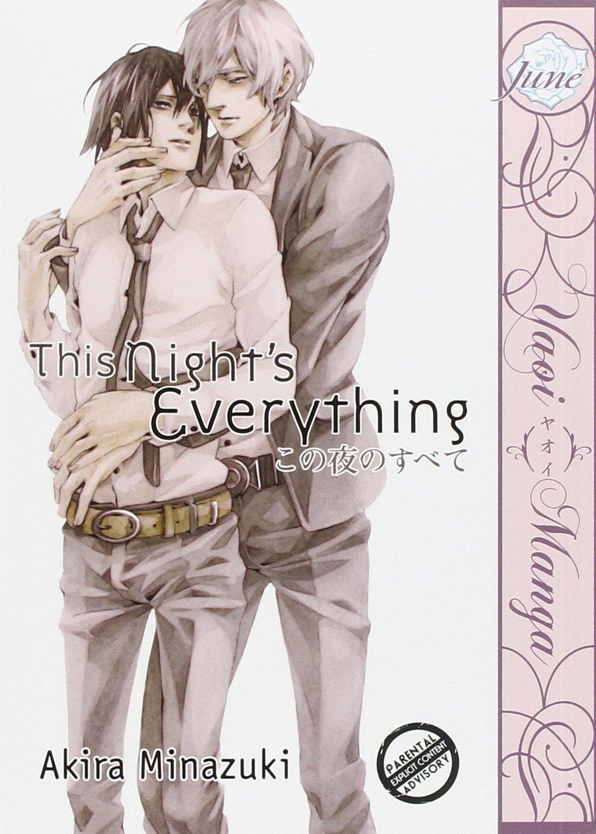 Yaoi Manga in English! This Night/'s Everything by Akira Minazuki