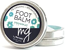 MG Signature 2-Pack Natural & Organic Peppermint Foot Balm Set