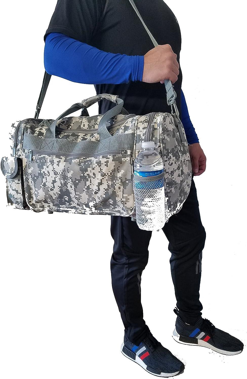 31 Luggage 18 Tote 21 ProEquip Travel ACU Duffel Bag Camouflage Duffle Gym Bag