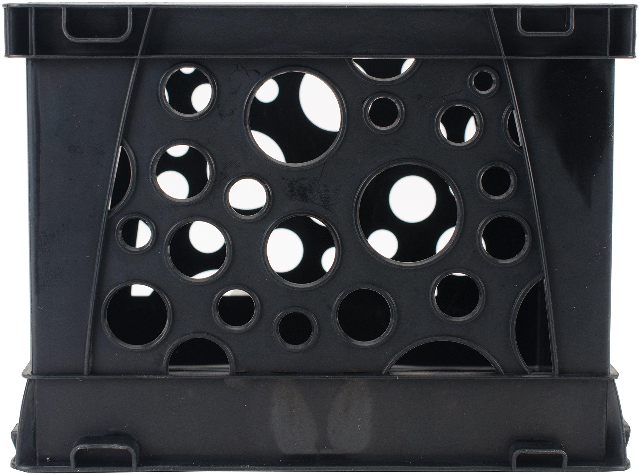 Storex Micro Crate, Black