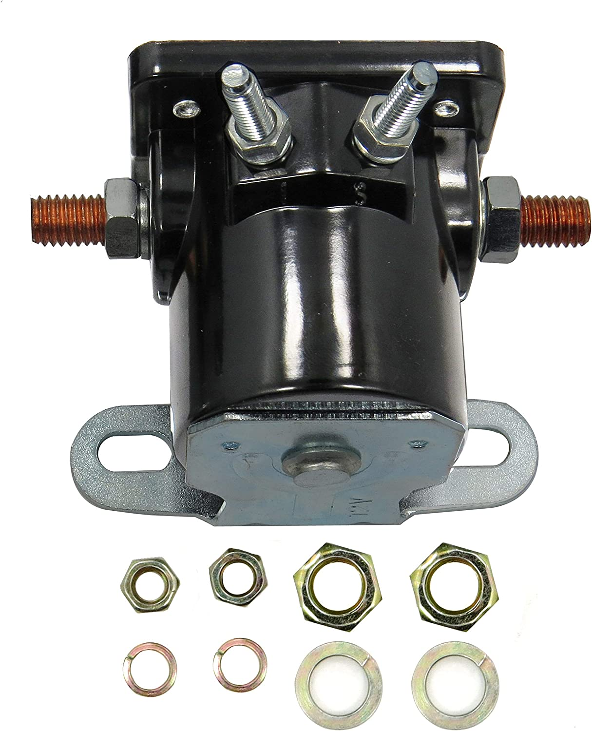 Aitook Starter Solenoid Relay Compatible with Mercury 40, 50, 65, 80, 85 HP Outboard Engines