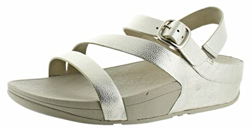 461a6fe4f Fitflop The Skinny Z Cross Sandals Metallic 7 UK Pale Gold  Amazon ...