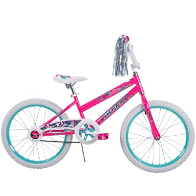 "20"" Huffy Sea Star Girls' Bike, Pearl White : Sports & Outdoors"