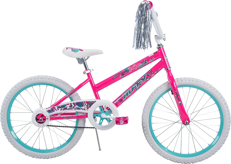 20 Huffy Sea Star Girls Bike, Pearl White