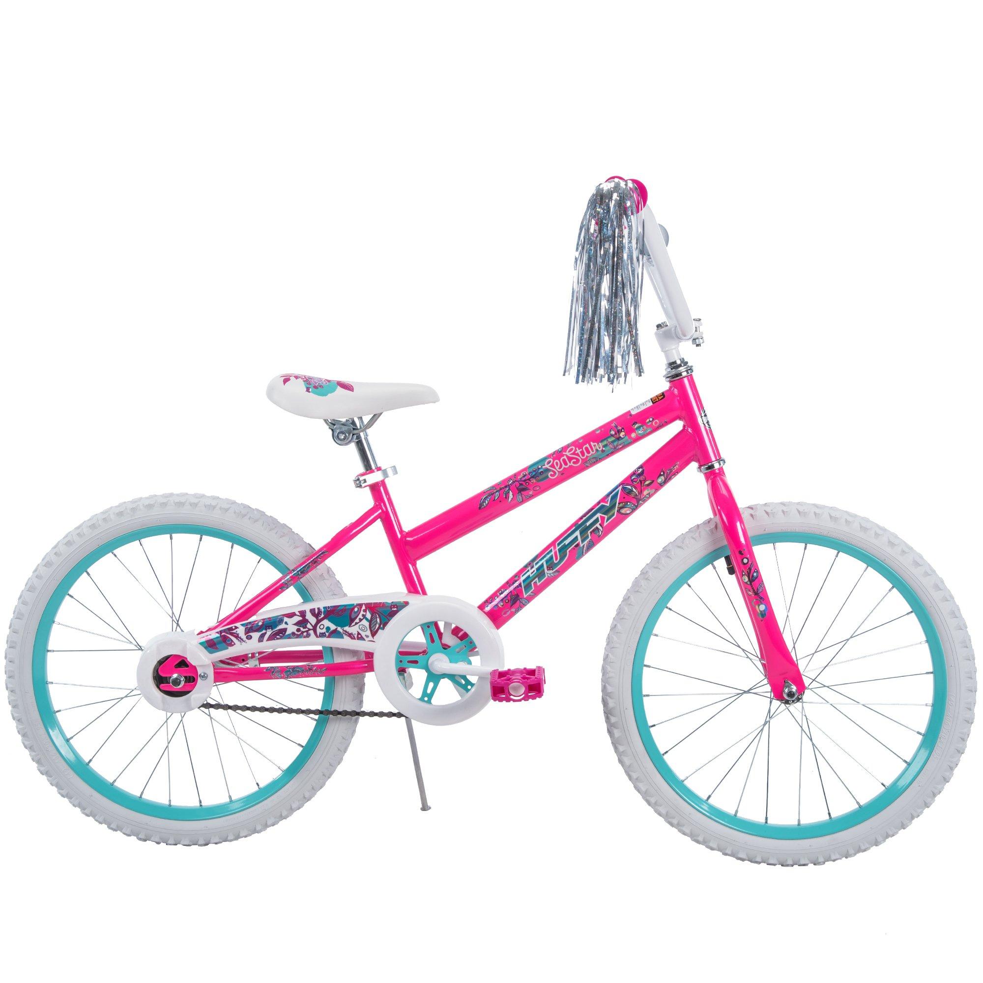20'' Huffy Sea Star Girls' Bike, Pearl White by Huffy