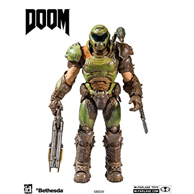 McFarlane Toys Doom - Doom Slayer Action Figure: Toys & Games
