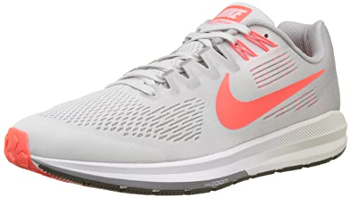 hot sale online 92bcc bc0de Nike Air Zoom Structure 21, Scarpe Running Uomo, Nero (Vast Grey Bright
