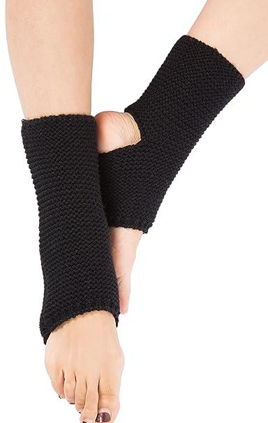 Amazon.com: Pierna Corta Warmer calcetines, las mujeres ...
