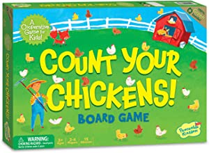 Peaceable Kingdom Count Your Chickens Award Winning Cooperative Counting Game for Kids