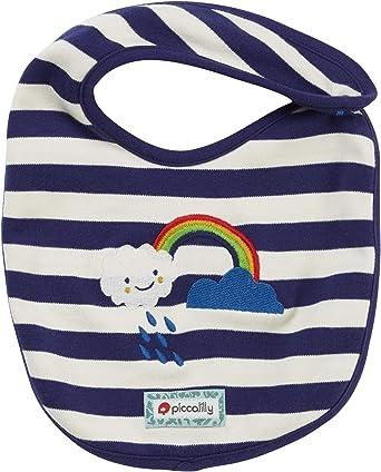 Piccalilly - Babero de algodón orgánico, unisex, diseño de Londres, color azul marino: Amazon.es: Ropa y accesorios