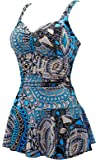 B2prity One Piece Swimwear With Padded Printed Bikini Bathing Swimsuits For Women
