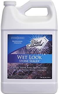 Black Diamond Stoneworks Wet Look Natural Stone Sealer Provides Durable  Gloss And Protection To: Slate