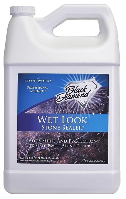 Black Diamond Stoneworks Wet Look Natural Stone Sealer Provides