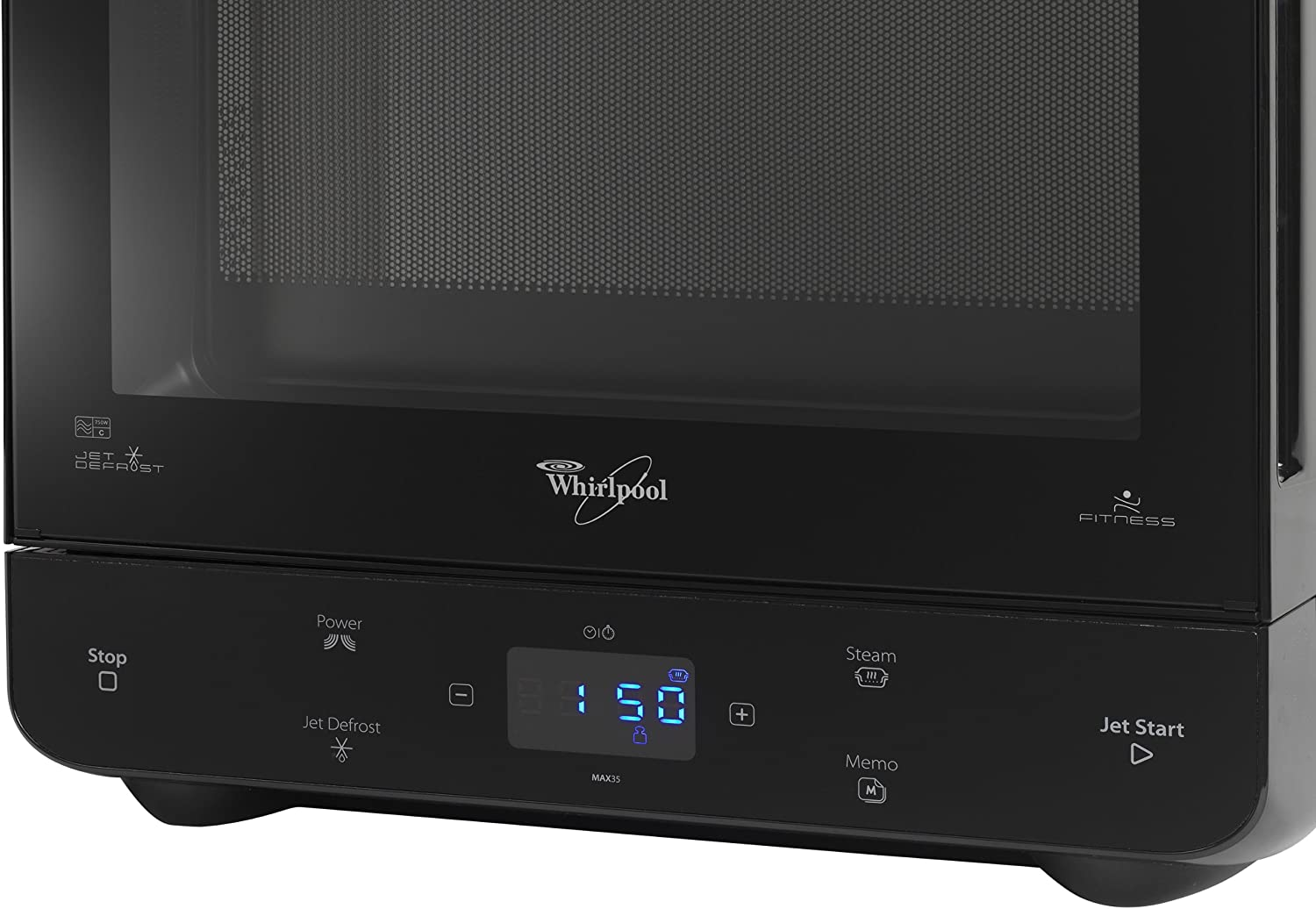 black-whirlpool-max-microwave-with-steam-function