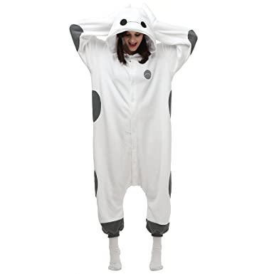 06624cd8749d Amazon.com  VU ROUL Halloween Costumes Women s Adult Clothing Baymax Onesie  Costume Pyjamas  Clothing