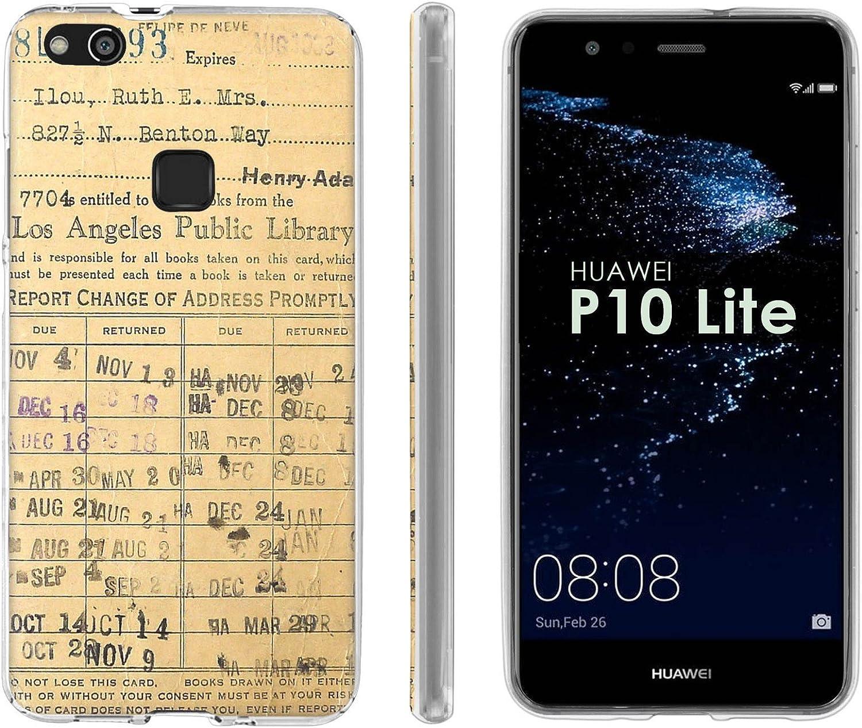 Amazon.com: Huawei P10 Lite TPU Silicone Phone Case [Mobiflare ...