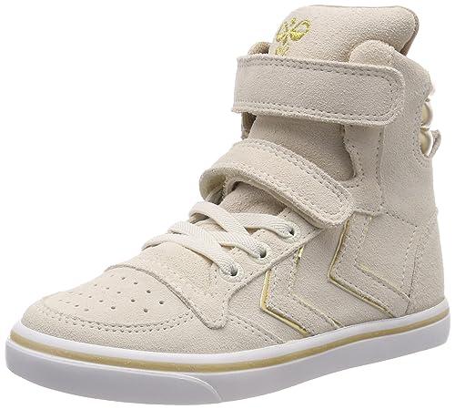 Hummel Slimmer Stadil Metallic Jr, Zapatillas Altas Unisex Niños: Amazon.es: Zapatos y complementos