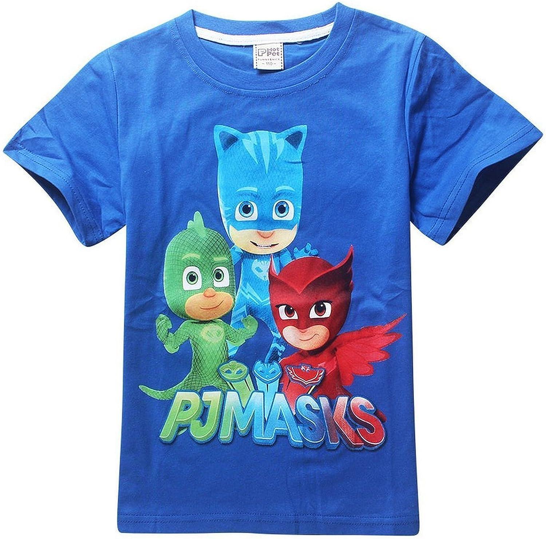 PJ MASKS - Camiseta de manga corta - para niño azul azul ...