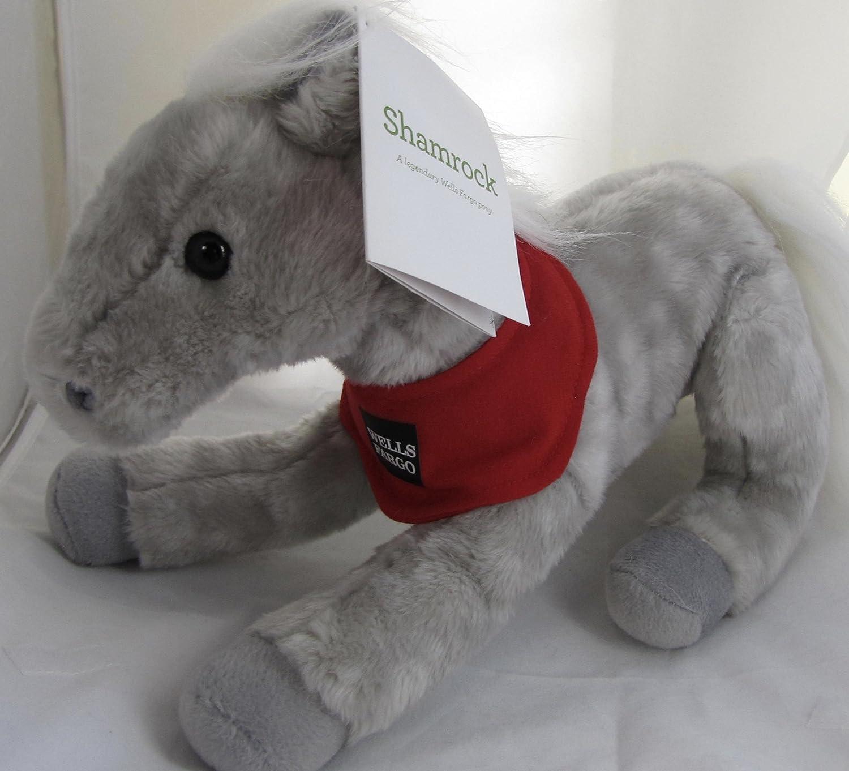 amazon com wells fargo legendary pony shamrock plush 2013 toys