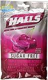 HALLS Sugar-Free Cough Drops, (Black Cherry, 25 Drops)