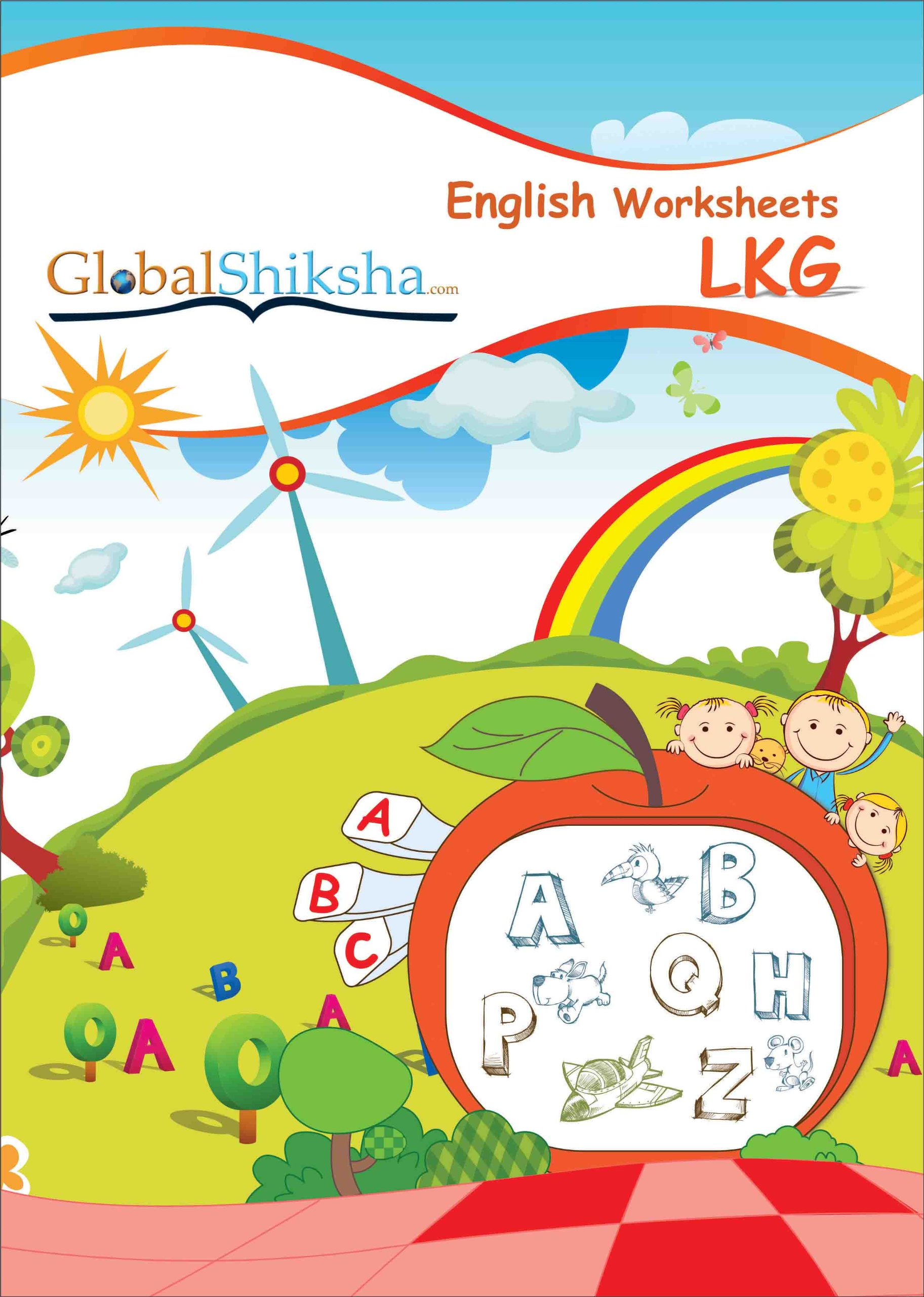 Buy Worksheets for LKG - English Book Online at Low Prices in India ...