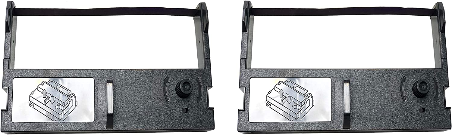 """Package of Two"""" Sam4s ER-350II, ER-655II Cash Register Ribbon, Ink, Cartridge, Compatible with Epson: ERC-39, M-U110, M-U310, M-U310S, M-U311, M-U311 S, M-U312S, Olivetti: Interpos 2000, 2001, Teknoline 2000, 2001, Omniprint OPC-311,Samsung ER 350ii, Synco SP-P0S76 II(Purple)"""