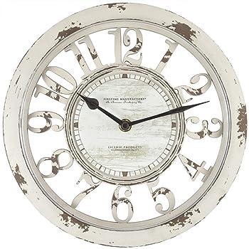 FirsTime & Co Farmhouse Modern Wall Clock