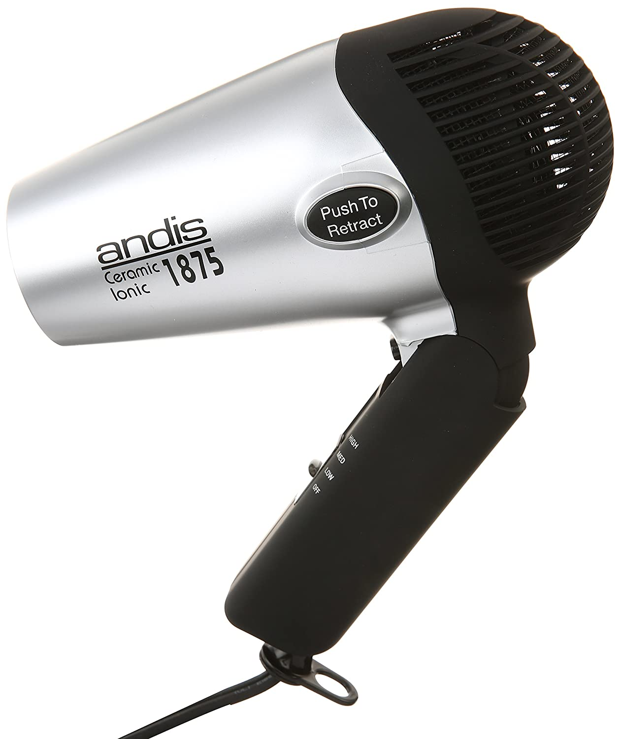 Andis Rc 2 Ionic 1875w Ceramic Hair Dryer With Folding