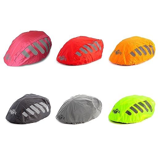 42 opinioni per Red Copri-casco impermeabile per bicicletta/bici da corsa, taglia universale