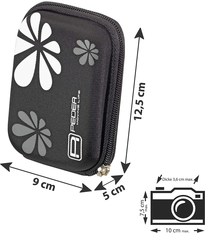 lila DSC-HX5 Nikon Coolpix S7000 Canon PowerShot SX610 HS//Samsung WB35F mit Displayschutzfolie Panasonic Lumix DMC-LF1 PEDEA Kameratasche f/ür Sony DSC-WX350